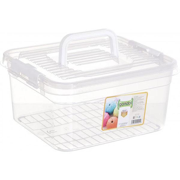 Ящик для хранения Gondol Hobby 8.5 л 150x300x255 мм