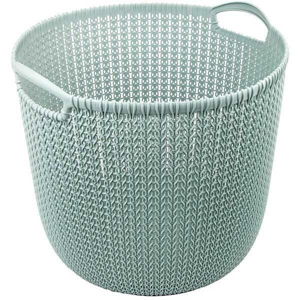Корзина для вещей Curver Knit 30 л синяя