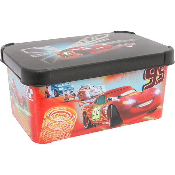 Ящик для вещей Curver Cars Neon 30х20х14 см