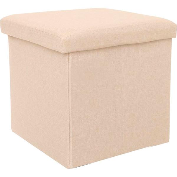 Короб для вещей 38x38x38 см кремовый