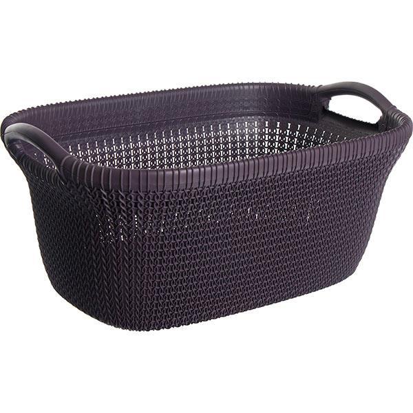 Корзина для вещей Curver Knit 40 л фиолетовый