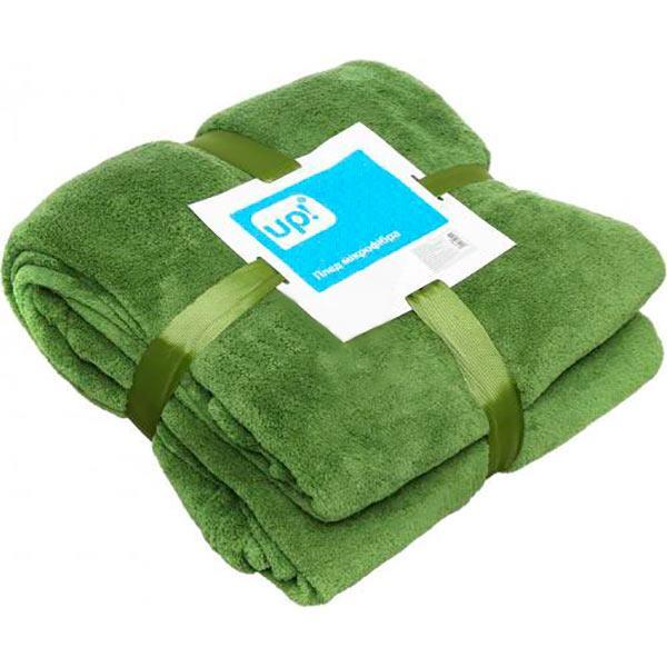 Плед мікрофібра Underprice зелений 160x200 см