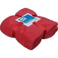 Плед микрофибра Underprice красный минерал 200x220 см
