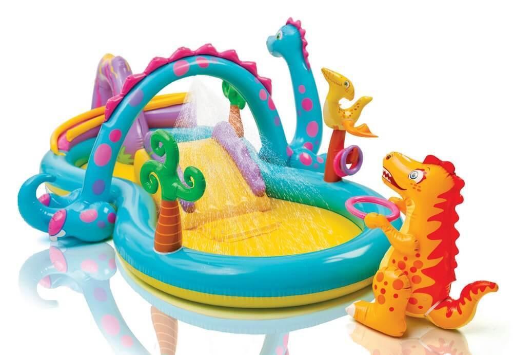 """Водный игровой центр Intex """"Dinoland Play Center"""",  280л, 333х229х112см."""