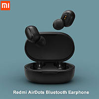 Xiaomi Redmi AirDots Wireless Bluetooth Headset Black (черные) TWS беспроводные наушники Bluetooth 5.0