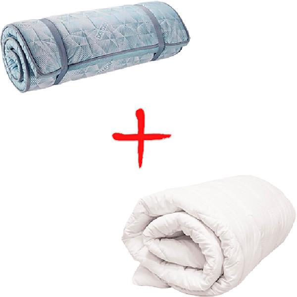 Набор Dormeo матрас Roll up Supreme + одеяло Злата