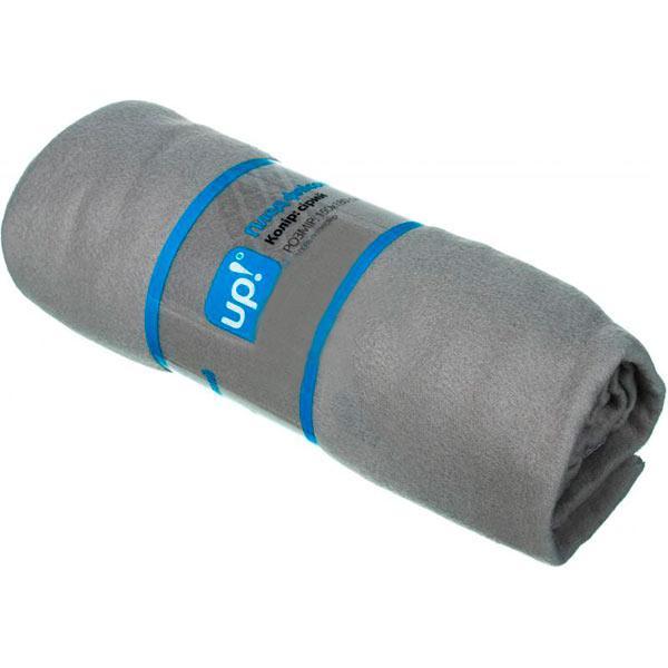 Плед флисовый Underprice серый 150x180 см