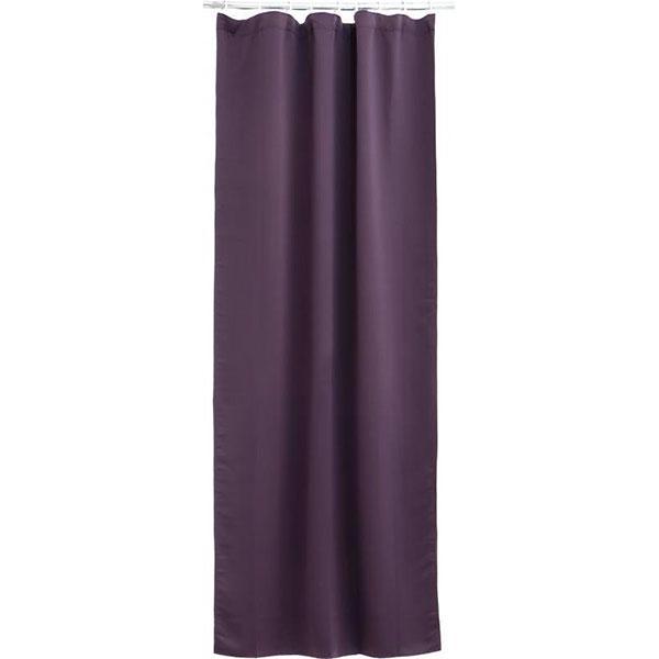 Штора-блэкаут La Nuit фиолетовая 140x275 см