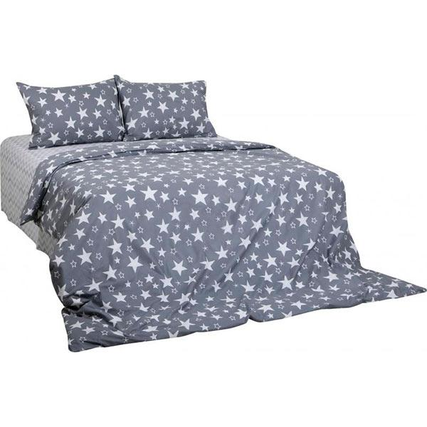 Комплект постельного белья полуторный Underprice Звездный зигзаг