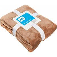Плед микрофибра Underprice какао 160x200 см