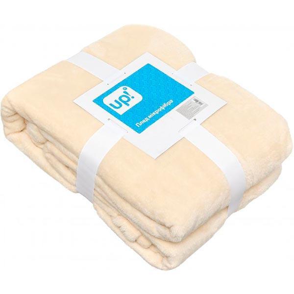 Плед микрофибра Underprice молочный 160x200 см
