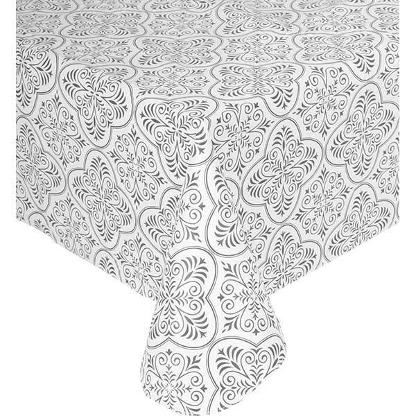 Скатерть Underprice Черно-белая 120x150 см