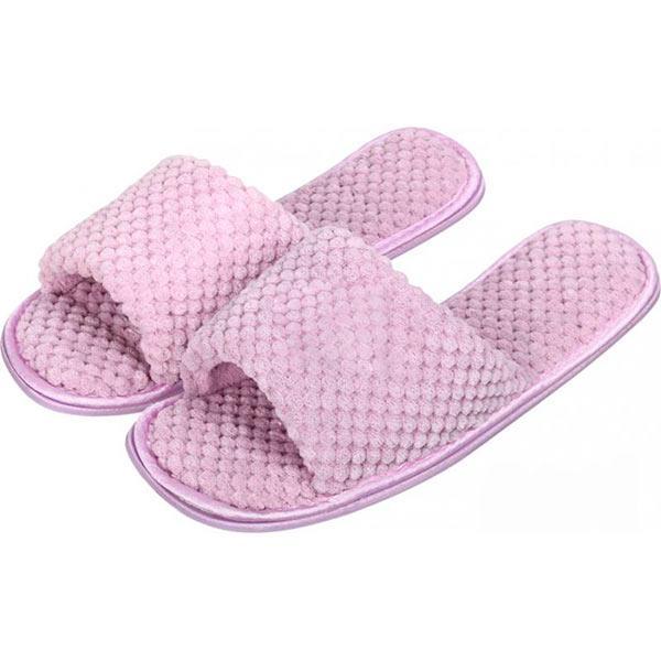 Обувь домашняя гостевая розовая