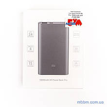 Портативная батарея Xiaomi Mi Pro 10000 grey (PLM03ZM) EAN/UPC: 190997000395