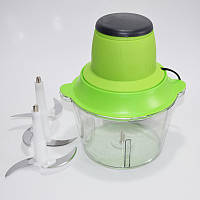 🔝 Блендер Kanwood с двухъярусным лезвием, измельчитель электрический с чашей + миксер (Молния 2) | 🎁%🚚, фото 1