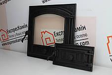 Дверцы для камина «STYLE 50» 500х500мм Дверцы для камина печи барбекю, фото 2