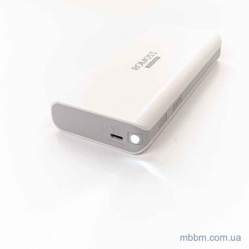 Повербанк Romoss eUSB sofun 4 10400 white (PH40-109) EAN/UPC: 6951758332070