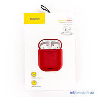 Чехол Baseus Wireless Charger silicone AirPods red (WIAPPOD-09) EAN/UPC: 6953156282957