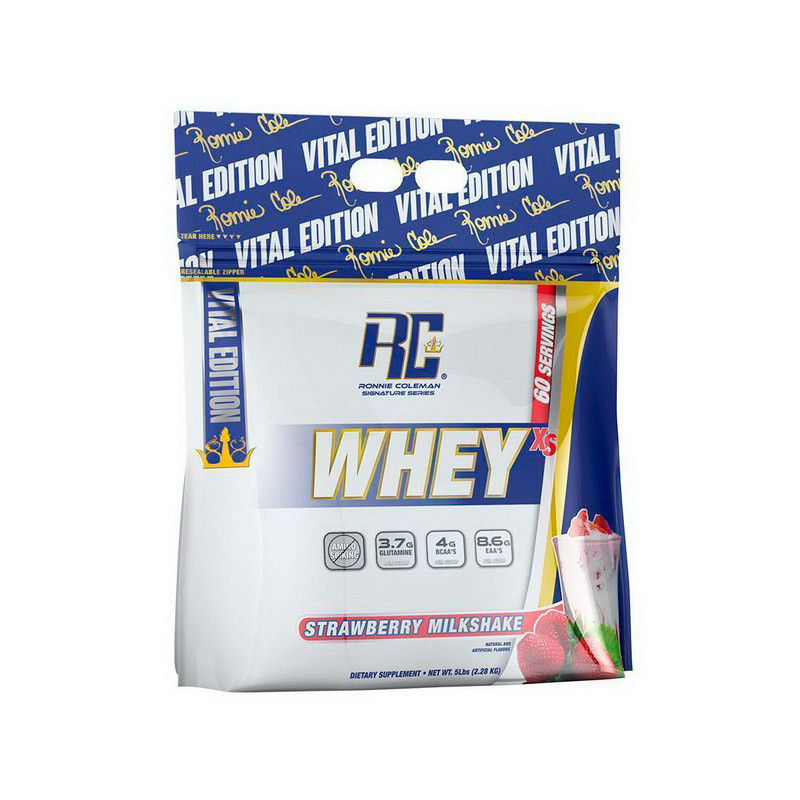 Сывороточный протеин концентрат Ronnie Coleman Whey XS (2.22 кг) ронни колеман вей strawberry milkshake