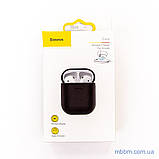 Чехол Baseus Wireless Charger silicone AirPods black (WIAPPOD-01) EAN/UPC: 6953156282940, фото 7