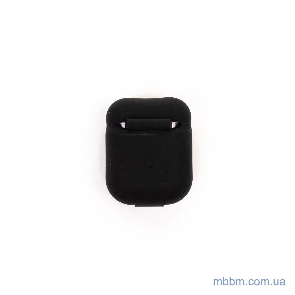 Чехол Baseus Wireless Charger silicone AirPods black