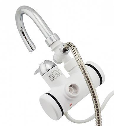 Проточный водонагреватель (боковое подключение), фото 2