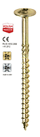 Шуруп усиленный для дерева типа Spax с прессшайбой Wkret-Met WKCP 6x70 мм 100 шт.