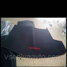 Ворсовый коврик в багажник MITSUBISHI OutIander XL с 2006-2012 гг.