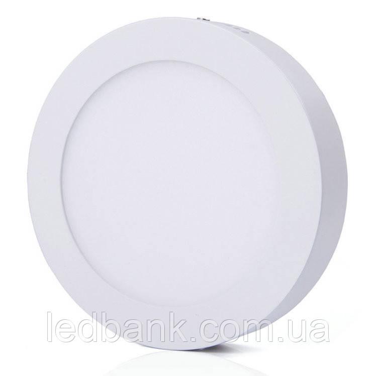Накладной светодиодный светильник 12W Wall Light-12 круг