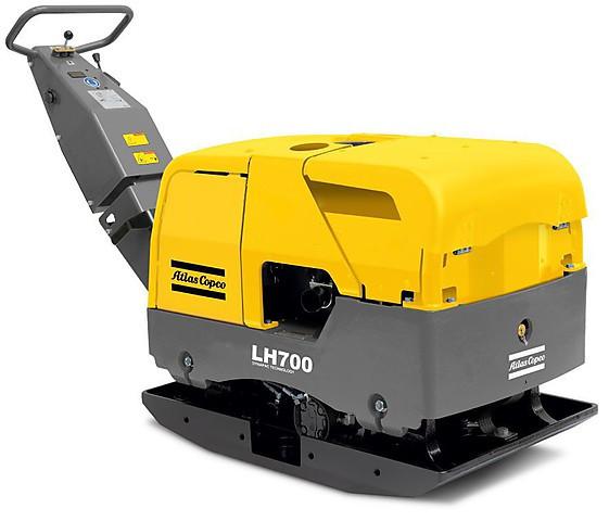 Реверсивная дизельная виброплита Atlas Copco LH700 E для больших объемов работ