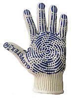 Перчатки трикотажные с ПВХ покрытием 161 эконом