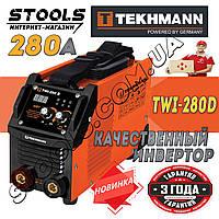 🔴 Сварочный аппарат Tekhmann TWI-280 D 🇩🇪