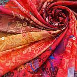 10827-3, павлопосадский платок из вискозы с подрубкой, фото 8