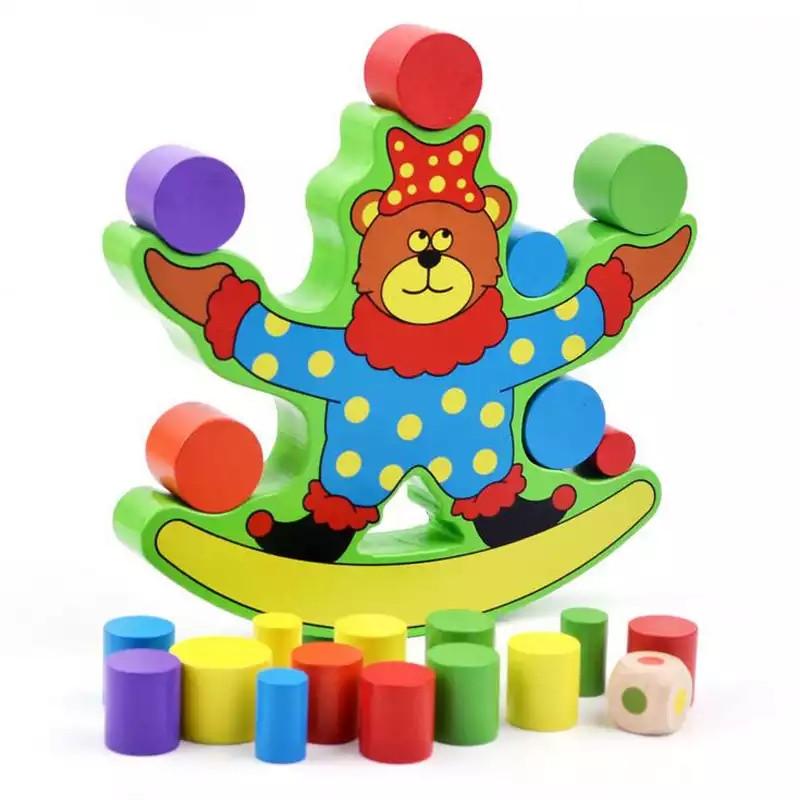 Деревянная игра Балансир  Медведь Game Toys