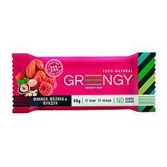 Фитнес батончик Greengy Energy Bar (40 г) финики, чернослив, фундук & кунжут