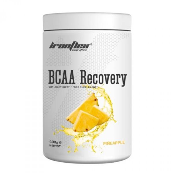 Аминокислоты IronFlex BCAA Recovery 400г Вкус : Апельсин до 02/21 года