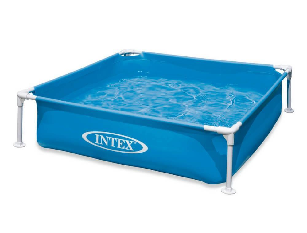 "Каркасный бассейн Intex ""Mini Frame Pool"", 337л, 122х122х30см."
