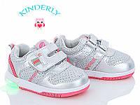 Кроссовки  для девочек Clibee  размеры 21(светятся)