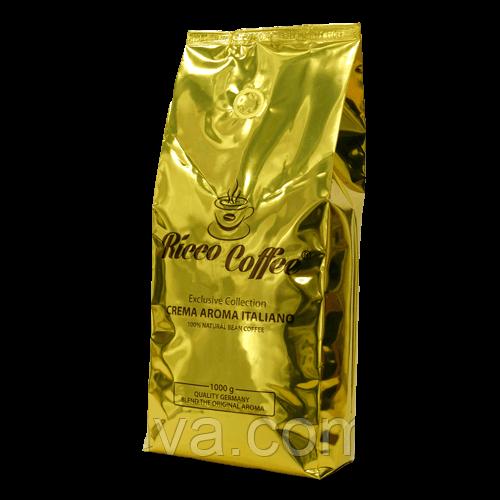 Кофе в зернах  Ricco Coffee Crema Aroma Italiano,  1кг