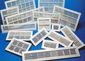 Решетки вентиляционные пластиковые Twitoplast (Израиль)