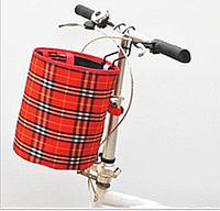 Велосипедная корзина на руль Robesbon передняя Red