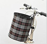 Велосипедная корзина на руль Robesbon передняя Black