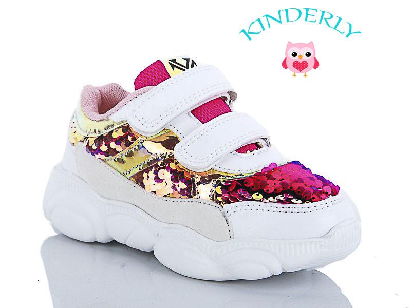 Яркие и стильные детские кроссовки  для девочек Kimbo-o размеры 28