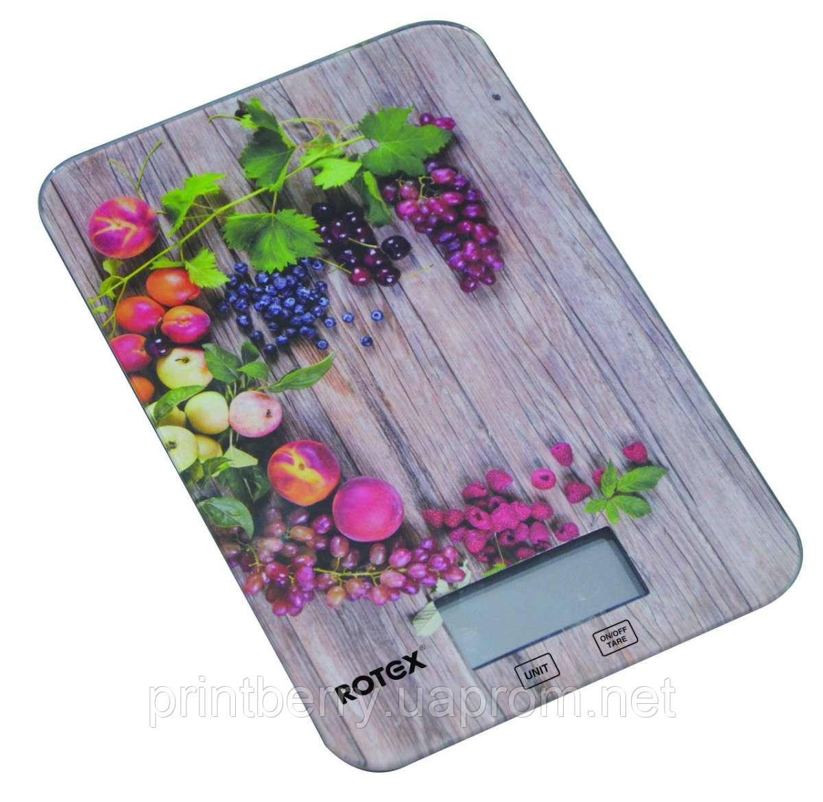 Весы кухонные Rotex RSK-14-P-Grape