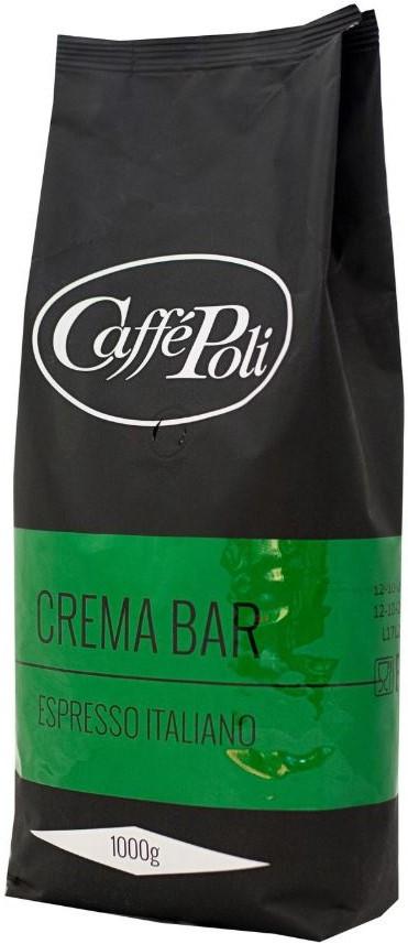 Кофе в зернах Caffe Poli Crema Bar 1 кг.