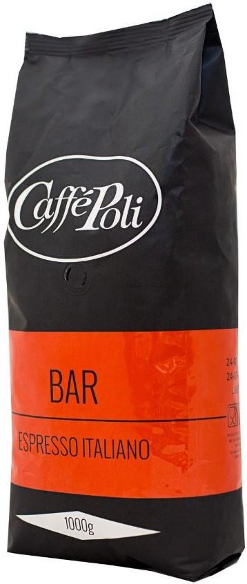Кофе в зернах Caffe Poli Bar 1 кг.