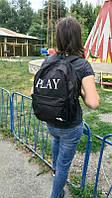 Рюкзак спортивный, рюкзак  черный, рюкзак чорний