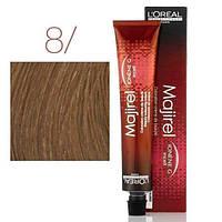 Крем-краска L'Oreal Professionnel Majirel 8 светлый блондин, 50 мл
