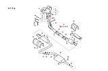 Труба приемная штаны Сенс под датч.кислорода Euro 2, ЗАЗ, 700-261, фото 2