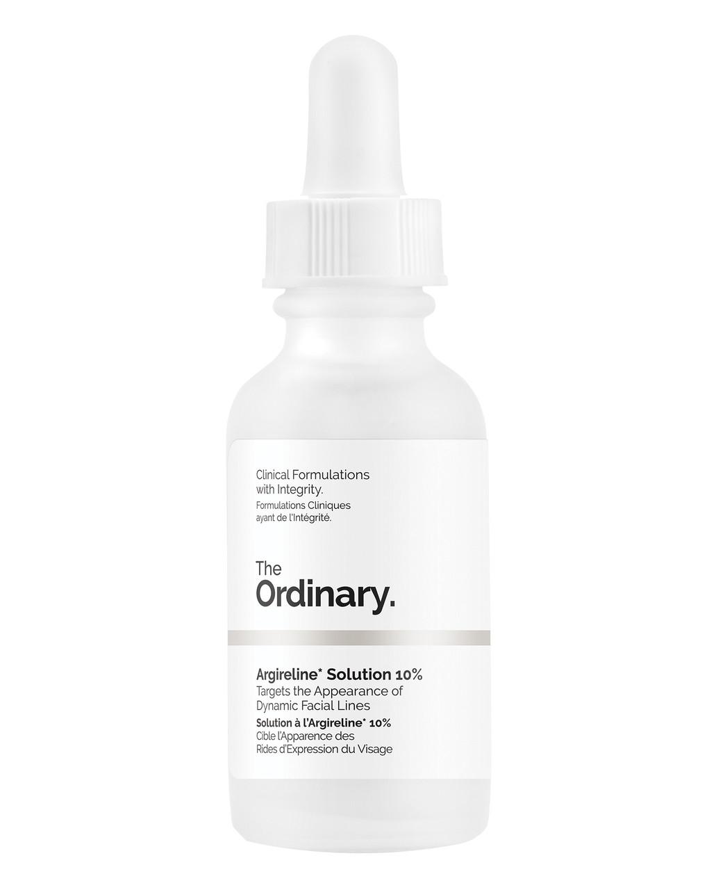 Сыворотка против морщин с аргирелином The Ordinary Argireline Solution 10% 30 мл